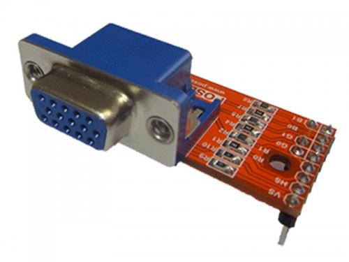 بال VGA شش بیتی برد FPGA پازج