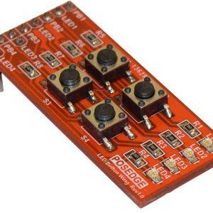 بال LED و کلید برای برد آموزشی FPGA پازج یک