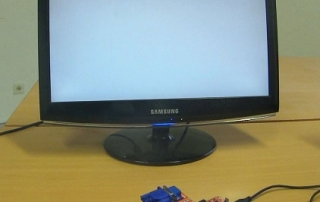 FPGA baord - VGA display