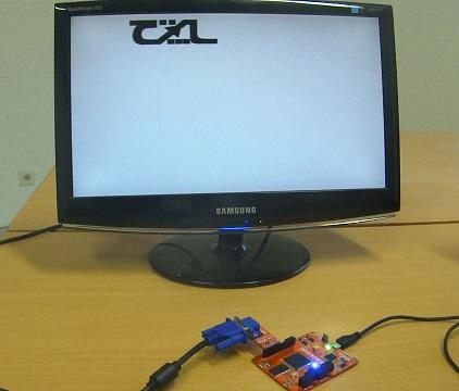 FPGA baord - VGA display
