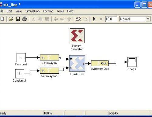 آموزش Co-Simulation با استفاده از  MATLAB SYSTEM GENERATOR