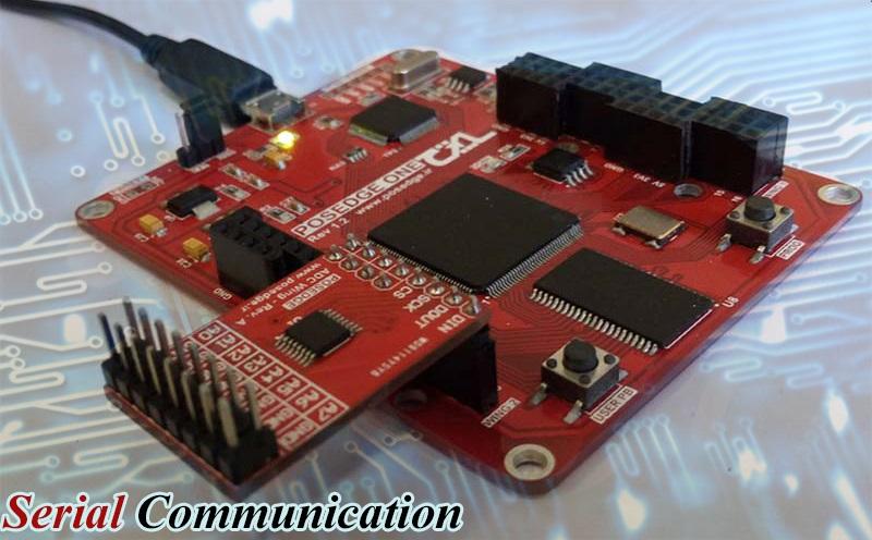 ارتباط سریال FPGA