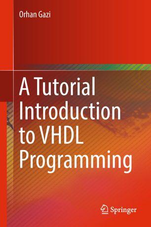 دانلود کتاب A Tutorial Introduction to VHDL Programming