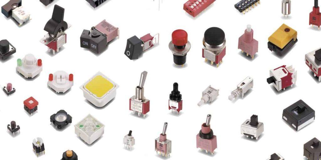 انواع کلیدهای الکترونیکی